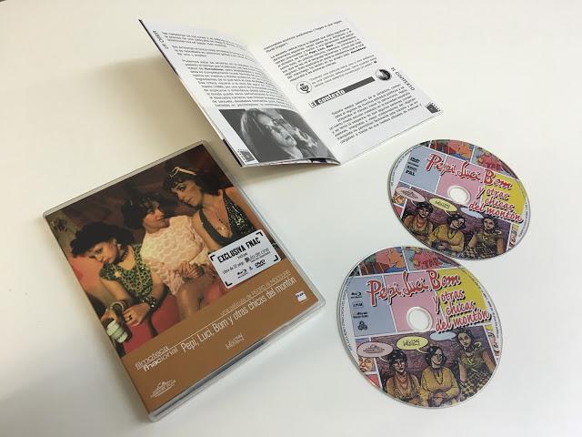 Ya a la venta 'Pepi, Luci, Bom y otras chicas del montón' en combo DVD + Blu-ray de la Filmoteca Fnacional