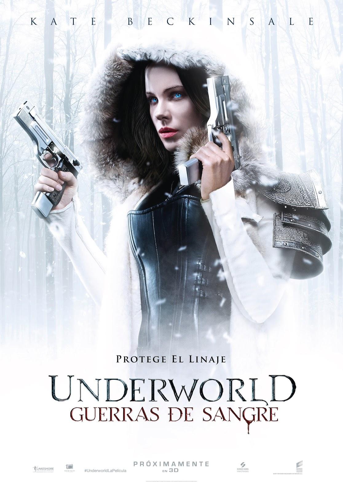 Teaser póster español y sinopsis de 'Underworld: Guerras de sangre'