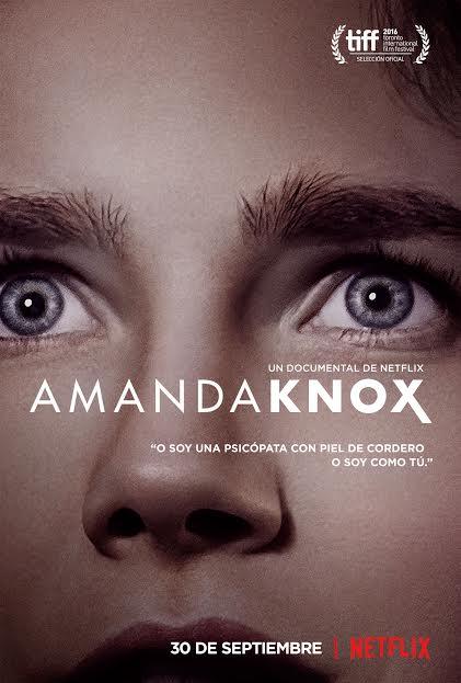 Tráilers y póster oficial del documental 'Amanda Knox'