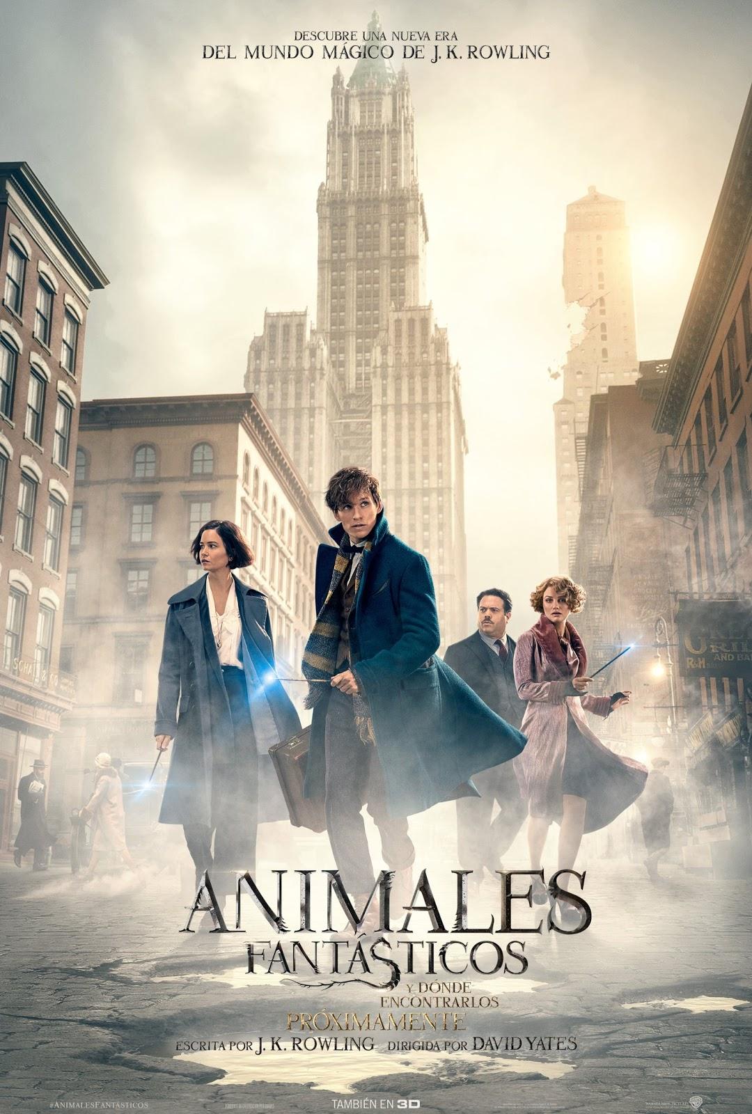 Nuevo póster español y tráiler final de 'Animales fantásticos y dónde encontrarlos'