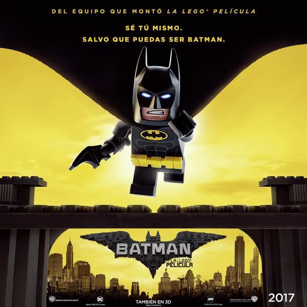 Póster español de 'Batman: La LEGO Película'