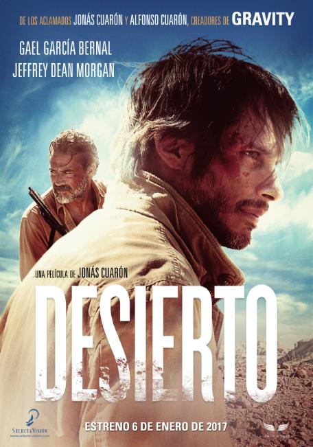 Póster español y nuevo tráiler de 'Desierto', de los hermanos Cuarón