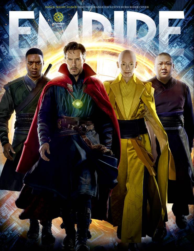 Empire dedica dos portadas a 'Doctor Strange (Doctor Extraño)'