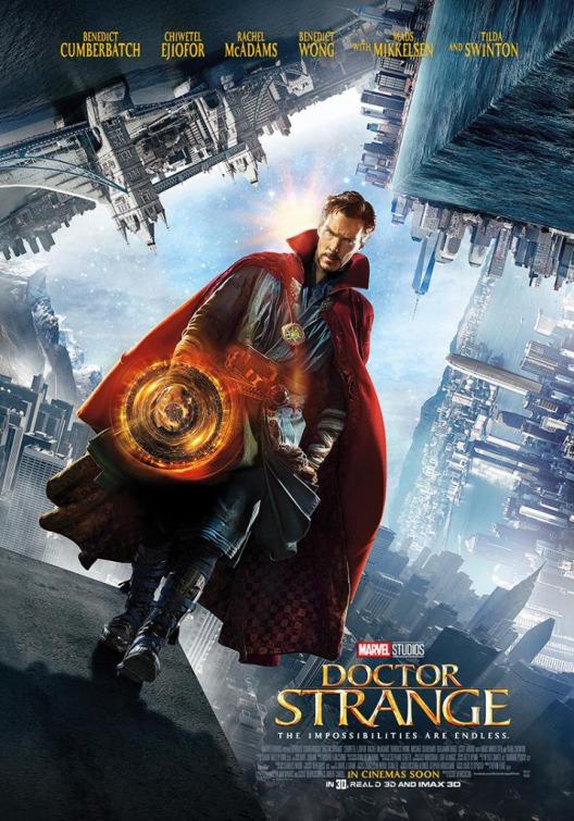 Nuevo póster de 'Doctor Strange (Doctor Extraño)'