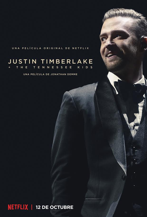 Póster y tráiler oficial de 'Justin Timberlake + The Tennessee Kids' de Netflix