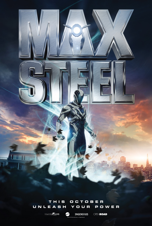 Nuevo póster de 'Max Steel' de Mattel