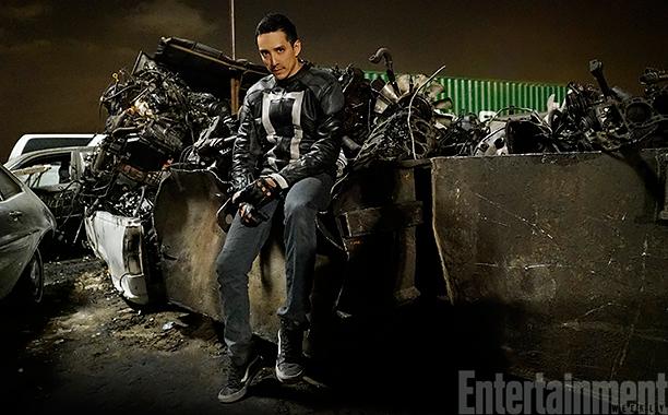 Primera imagen de Gabriel Luna como Ghost Rider en 'Agentes de S.H.I.E.L.D.'