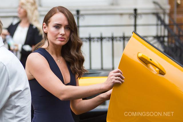 Fotos del rodaje en Londres de 'Transformers: El último caballero'