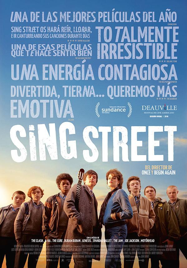 Póster y tráiler español de 'Sing Street'