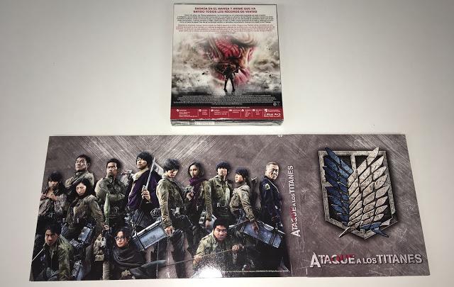 A la venta 'Ataque a los Titanes' de Shinji Higuchi en DVD y Blu-ray