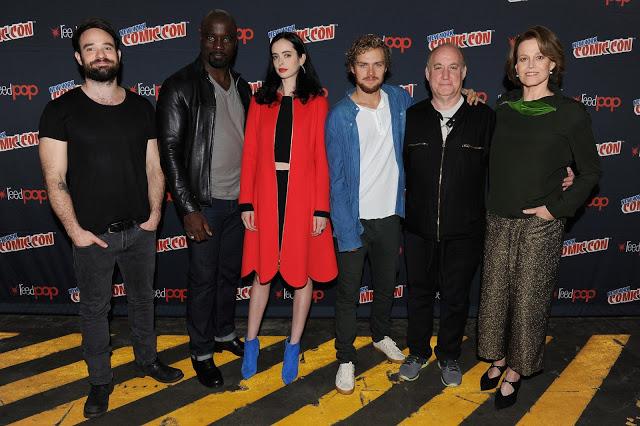 Sigourney Weaver se une a 'Marvel - The Defenders', que se presenta por sorpresa en la Comic Con de Nueva York
