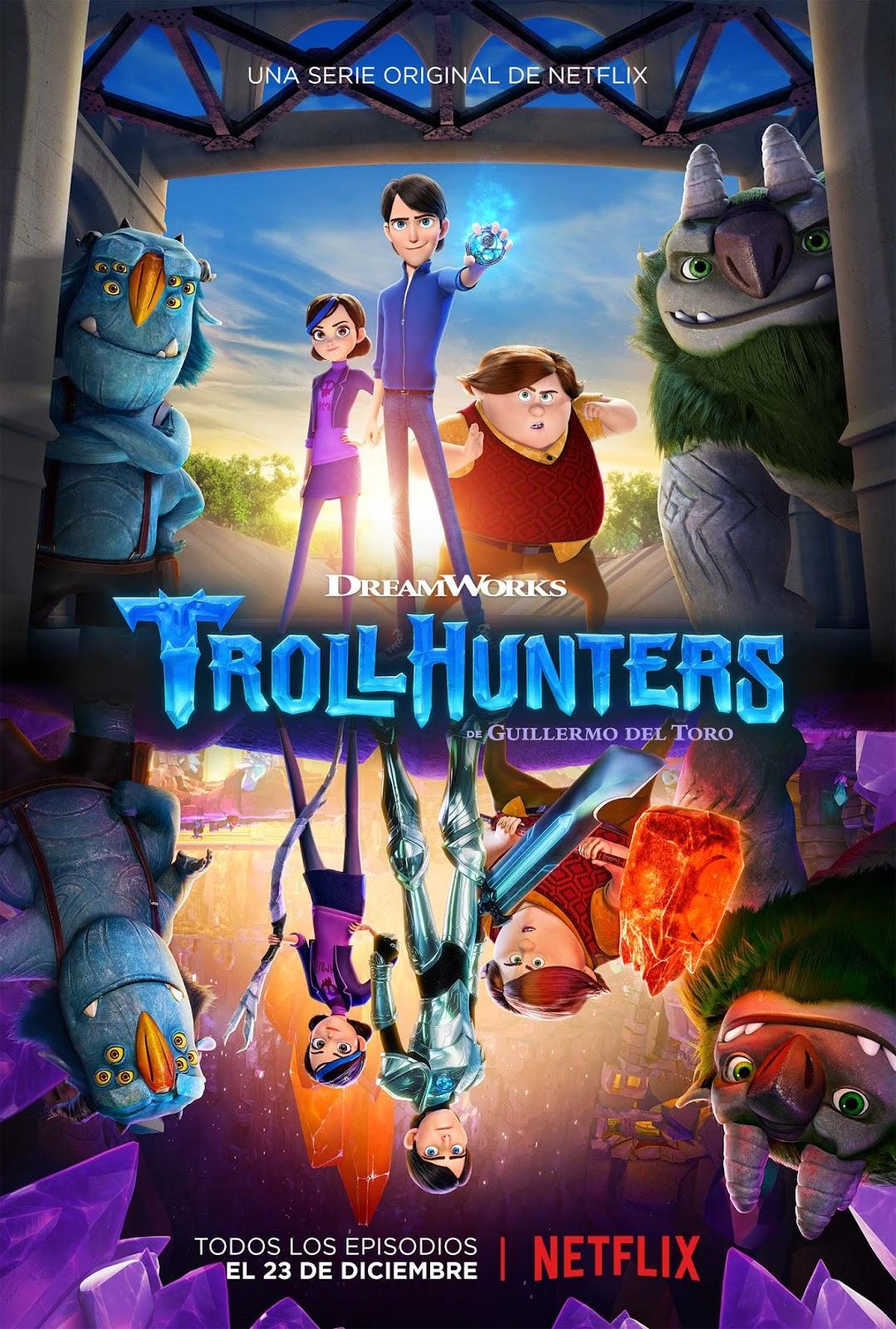 Tráiler y póster oficial de 'Trollhunters', la nueva producción de animación de Netflix