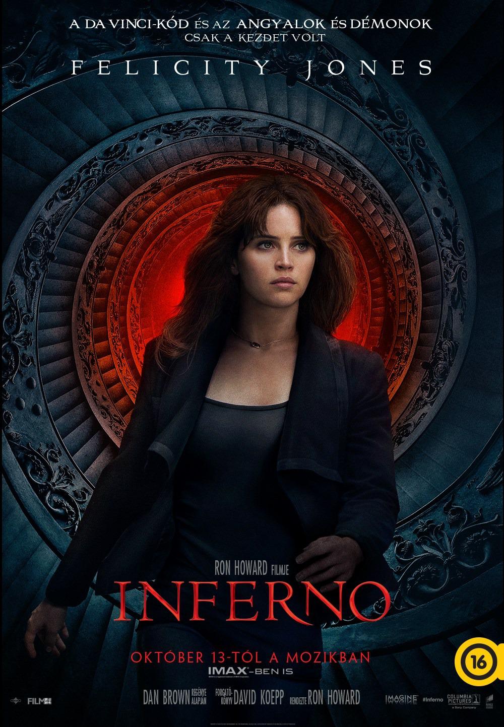 Nuevo póster de 'Inferno' centrado en Felicity Jones