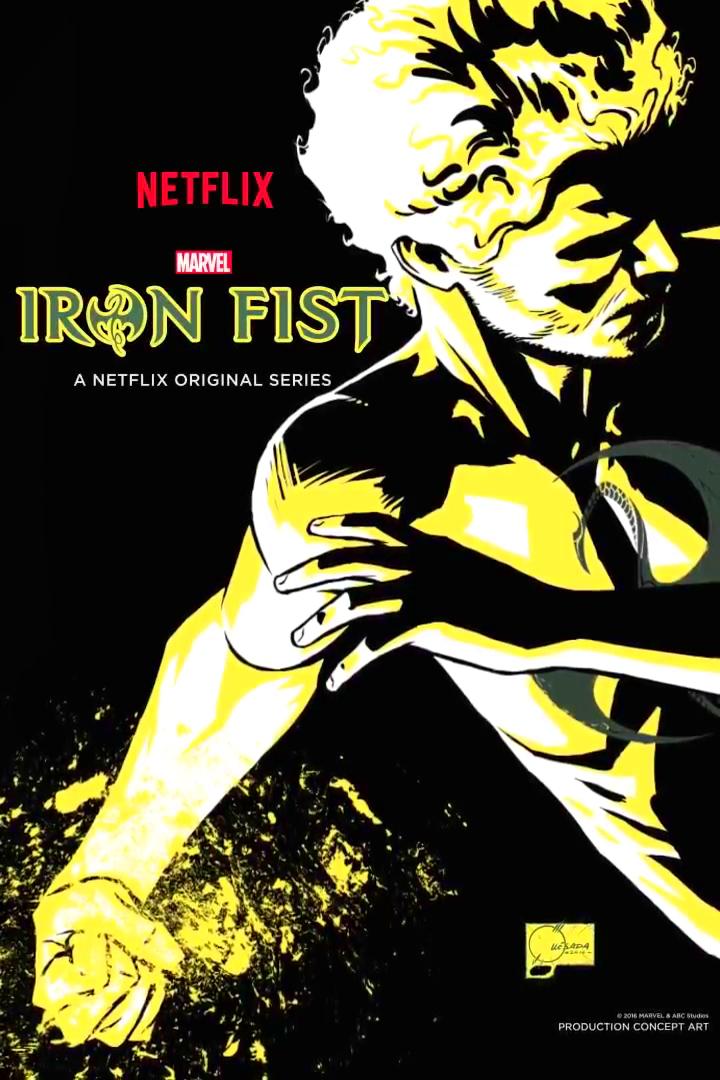 Póster en movimiento de 'Marvel - Iron Fist' diseñado por Joe Quesada