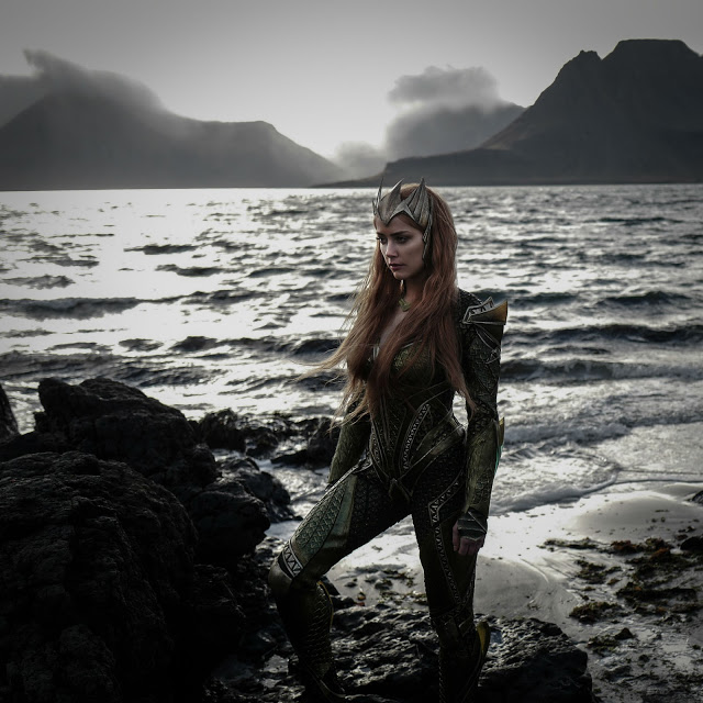 Primera foto de Amber Heard como Mera en 'La Liga de la Justicia'