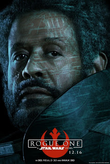 Remesa de pósters de personajes de 'Rogue One: una historia de Star Wars'