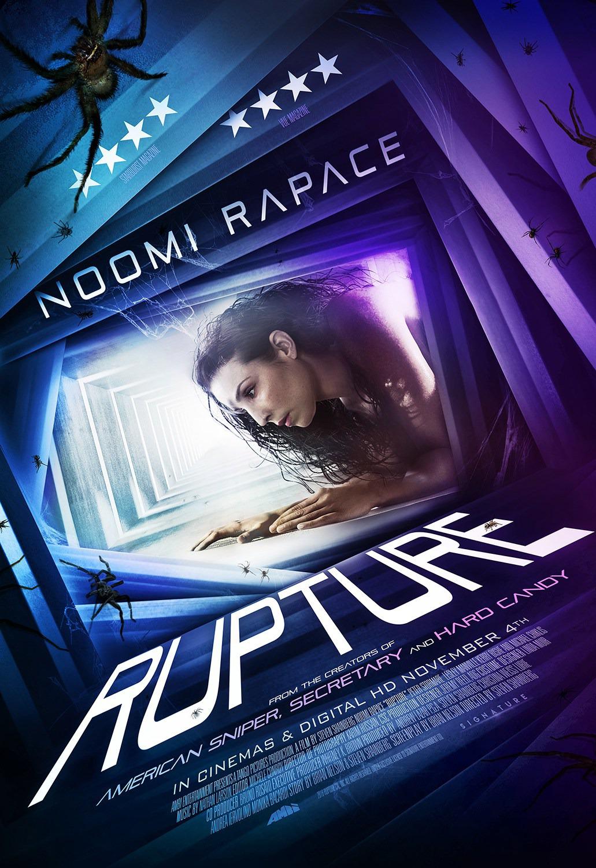 Póster británico y clip de vídeo de 'Rupture' con Noomi Rapace