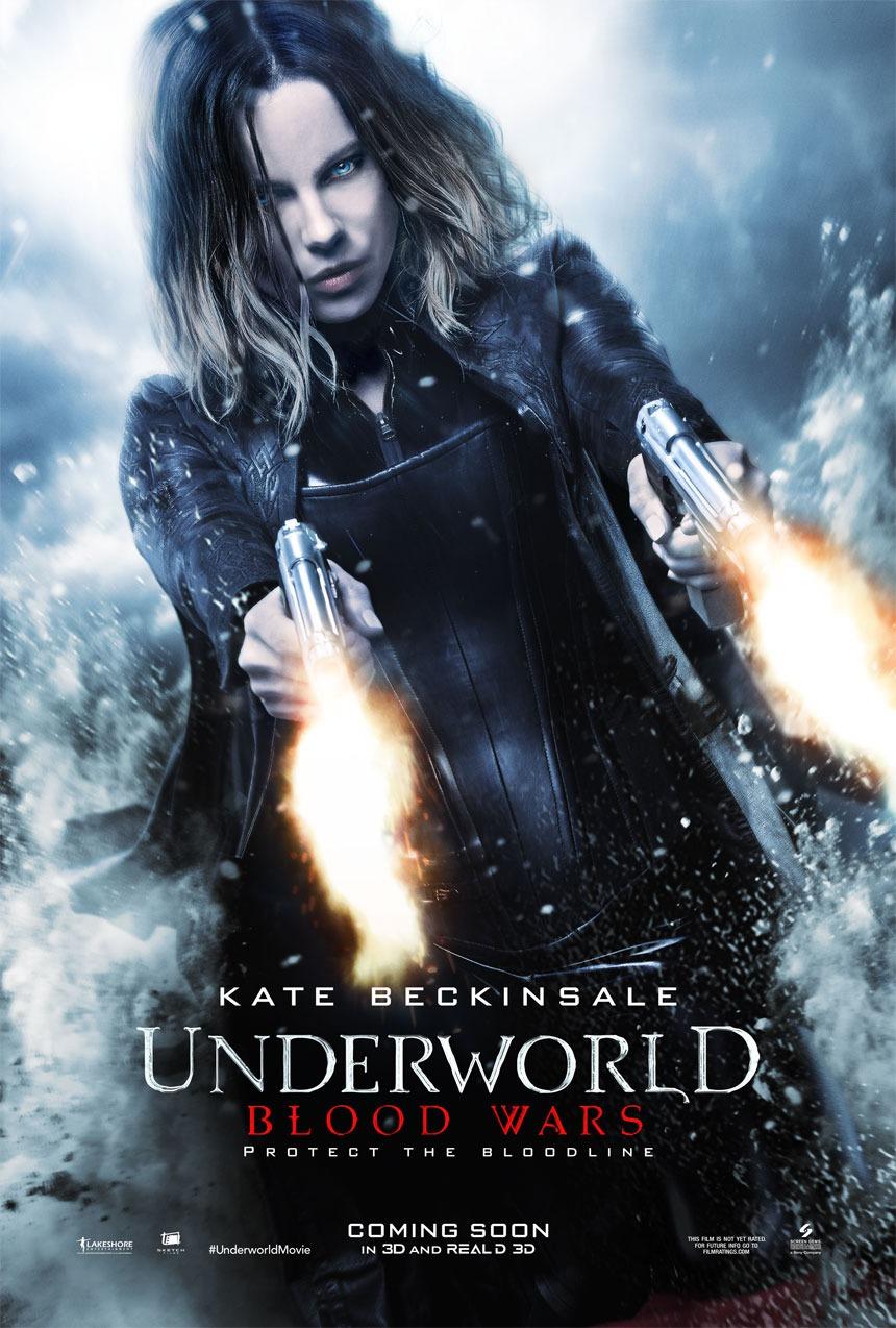 Nuevo póster de 'Underworld: Guerras de sangre' con Kate Beckinsale como Selene