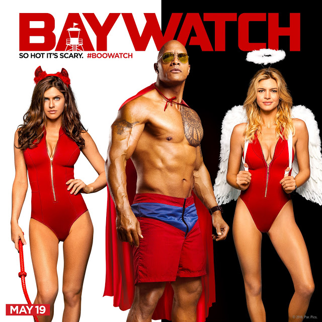 El reparto de 'Baywatch' ('Los vigilantes de la playa') celebra Halloween con 3 nueva imágenes