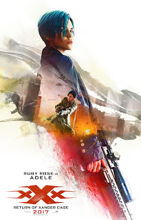 Doce póstes de personajes de 'xXx: Reactivated'