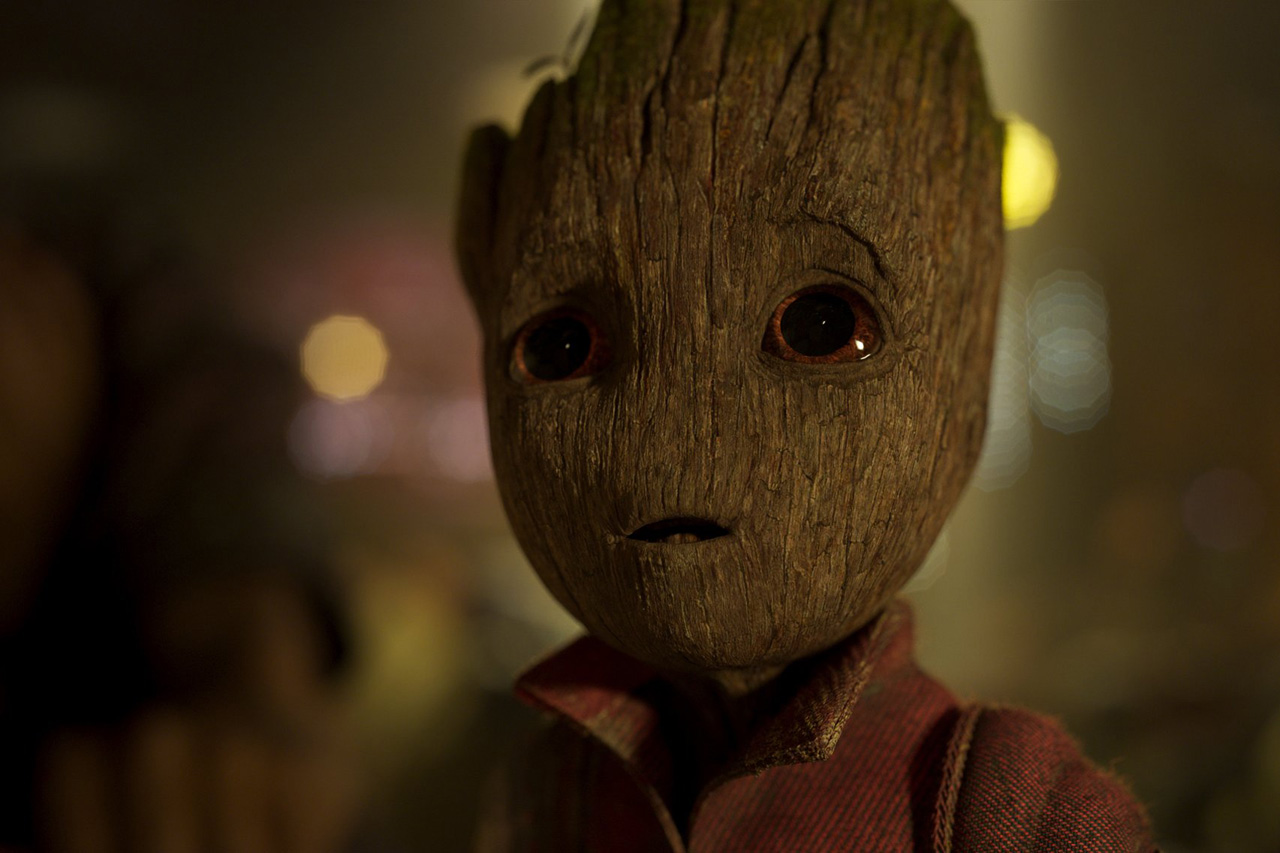 Baby Groot Guardianes de la Galaxia 2