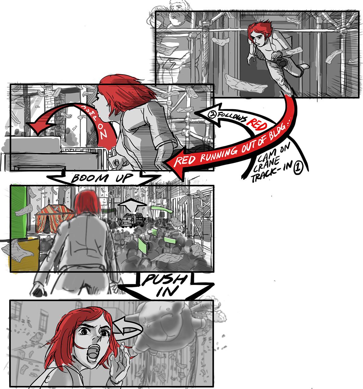 okja storyboard