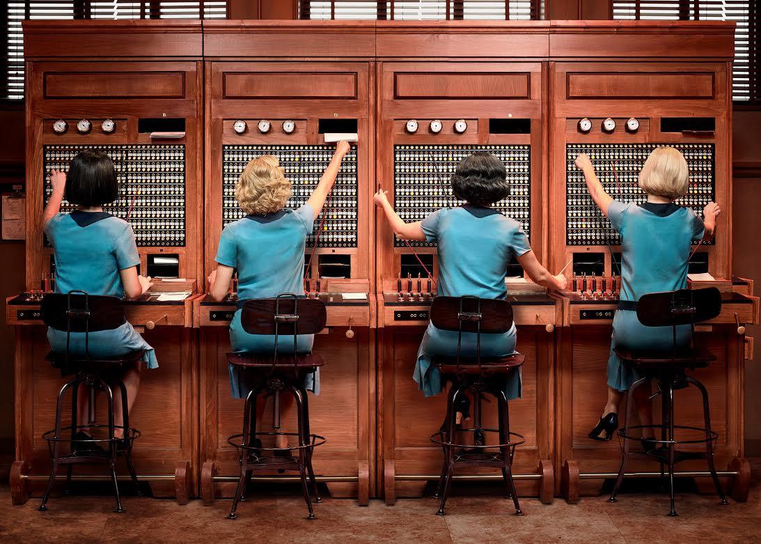 39 las chicas del cable 39 netflix presenta la primera imagen de su pr xima serie original espa ola - Jordi evole con quien esta casado ...