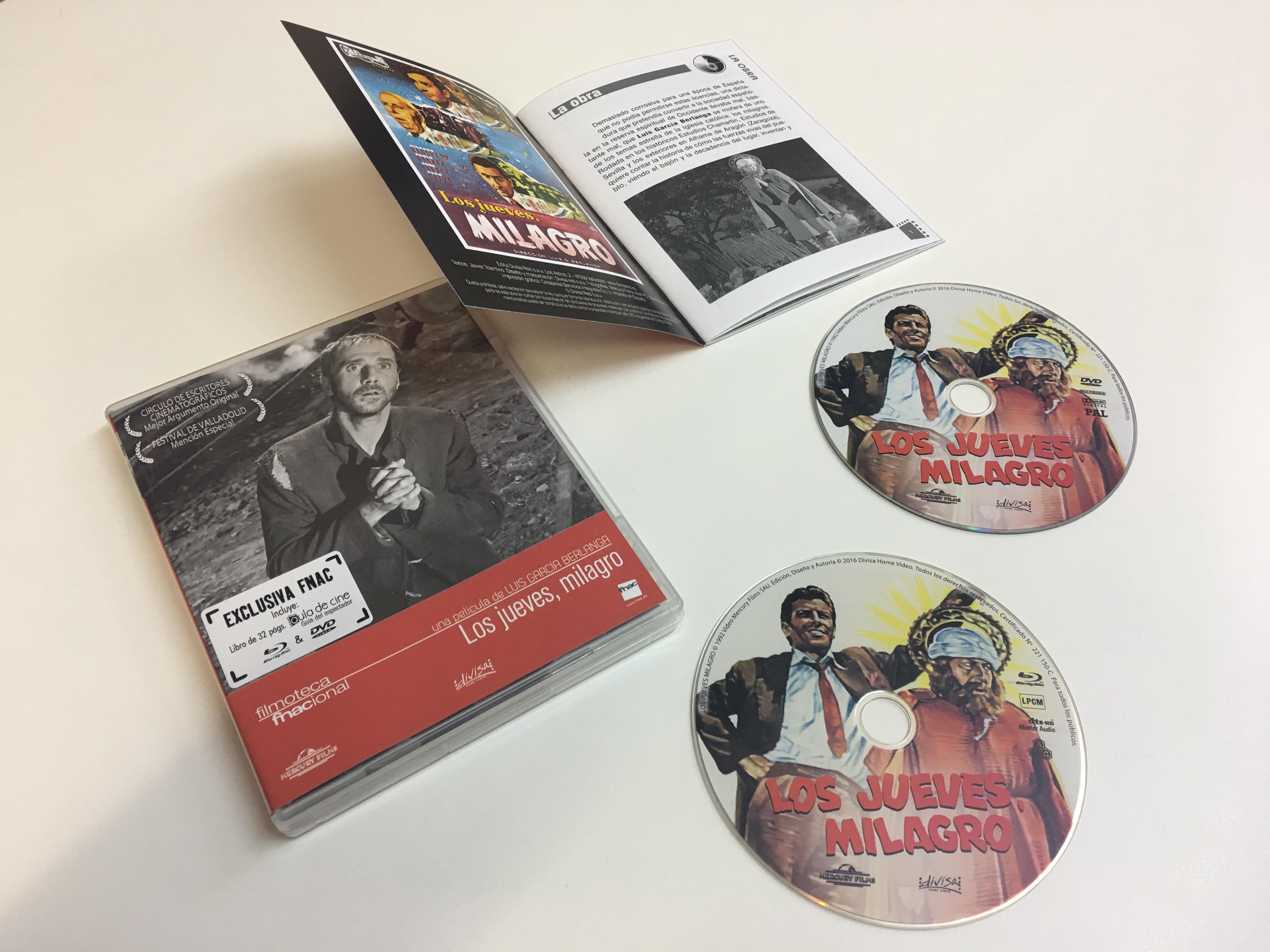 Los jueves, milagro (Blu-ray + DVD) - Exclusiva Fnac