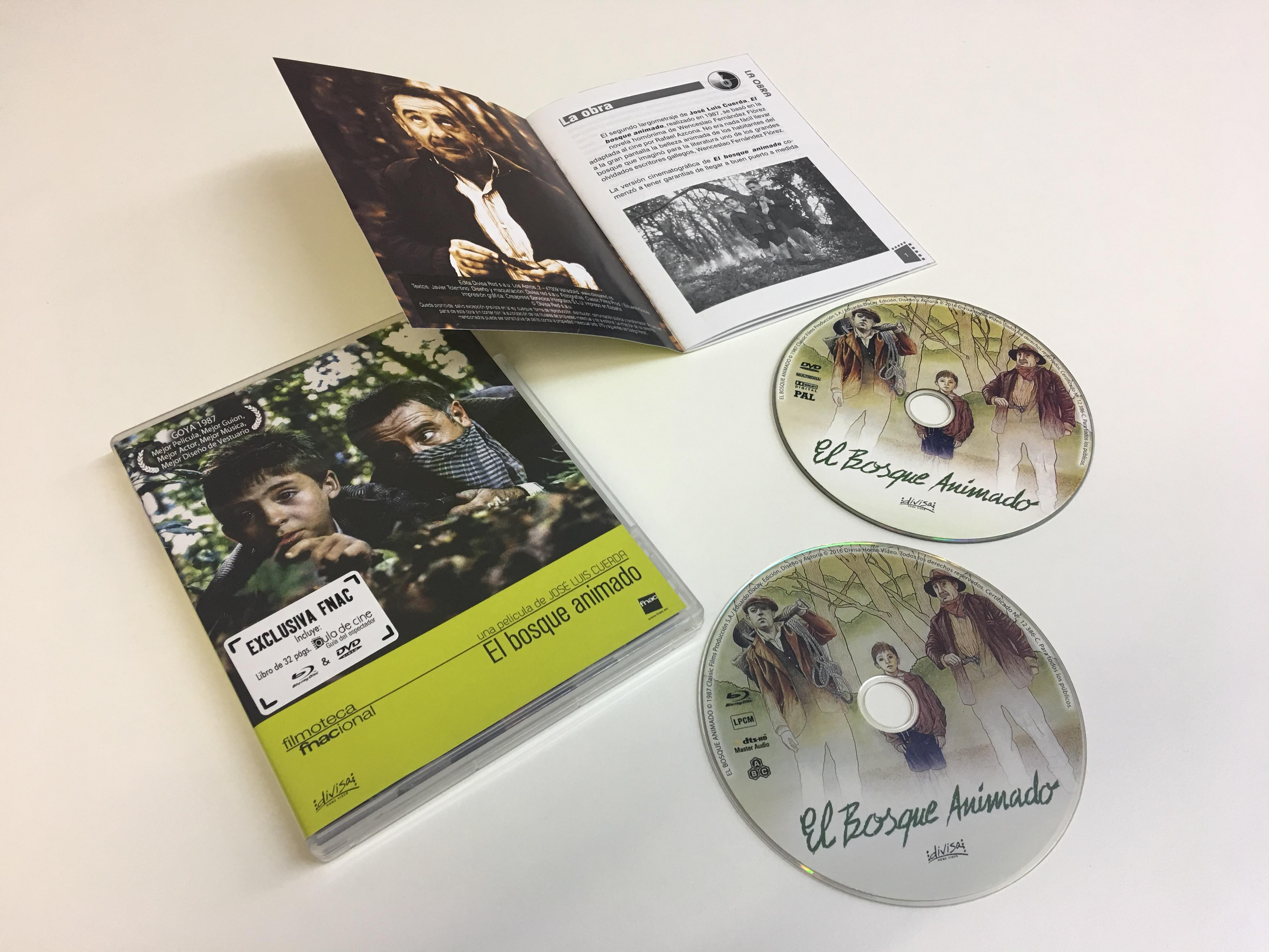 El Bosque Animado - Filmoteca Fnac Blu-ray