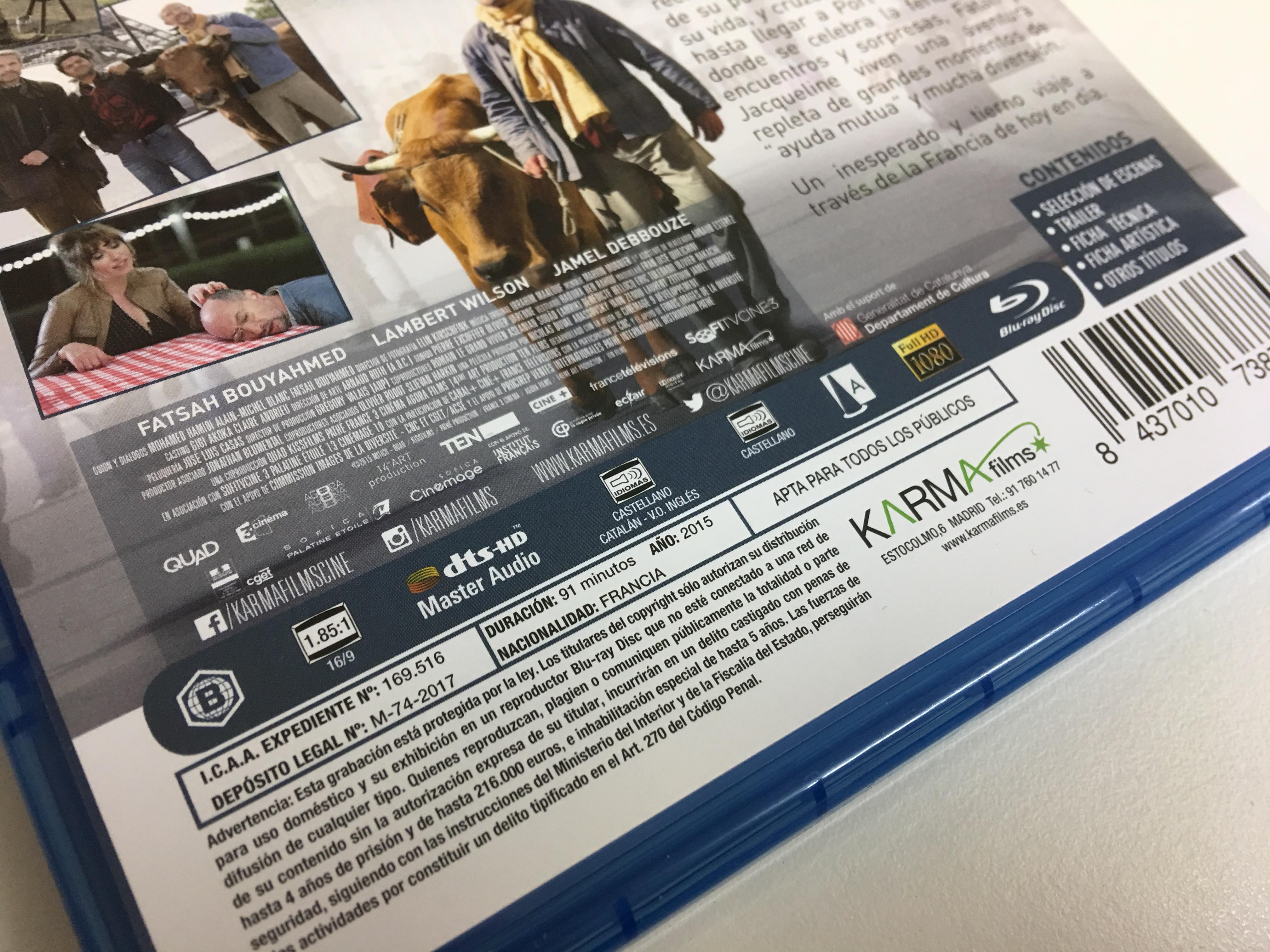 'La vaca': Análisis del Blu-ray de la comedia francesa de Mohamed Hamidi