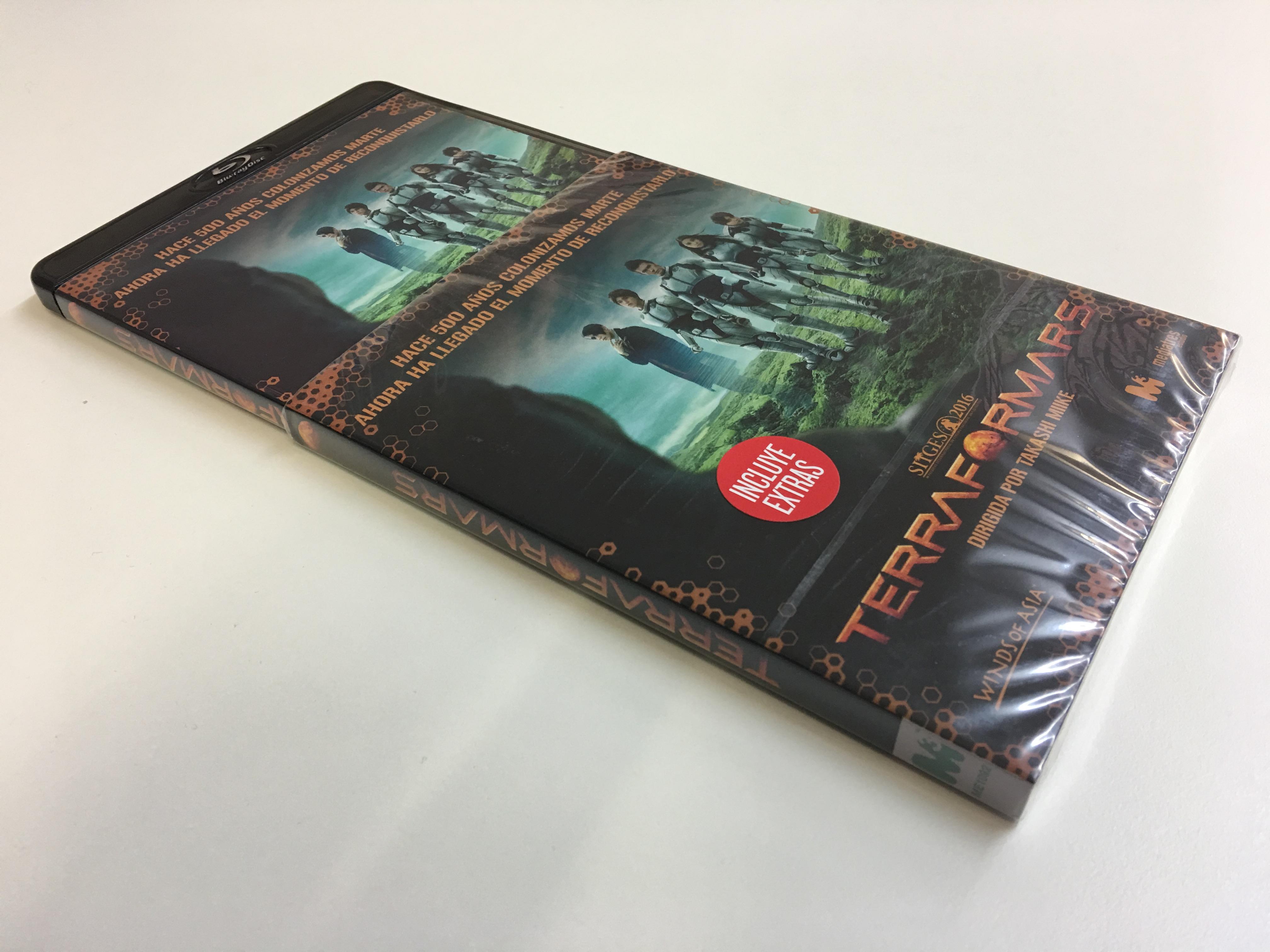 'Terra Formars': A la venta en DVD y Blu-ray la película de Takashi Miike