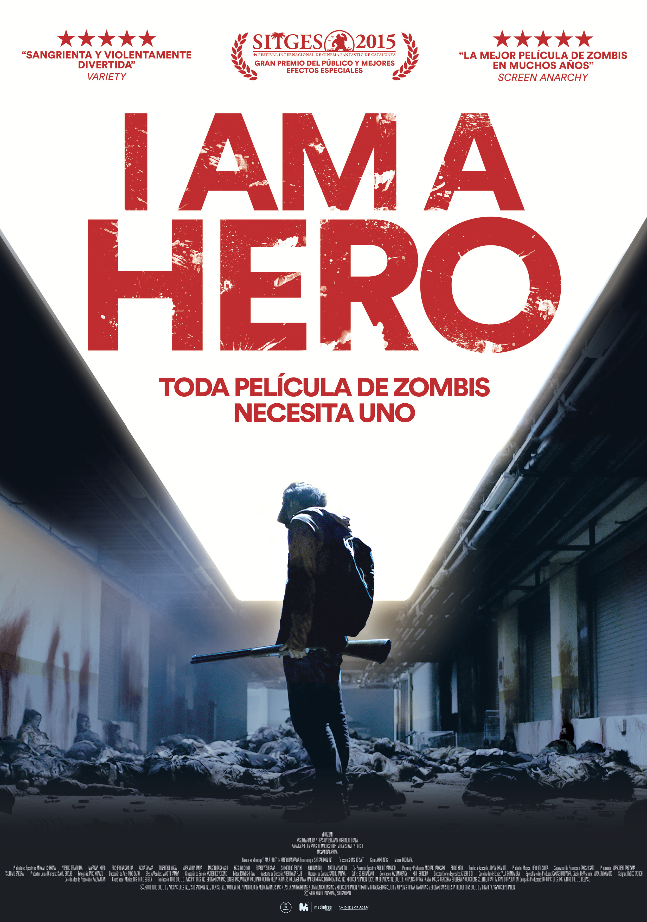 I am a hero - poster