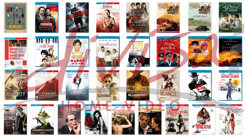 Lanzamientos de abril en DVD y Blu-ray de Divisa Home Video