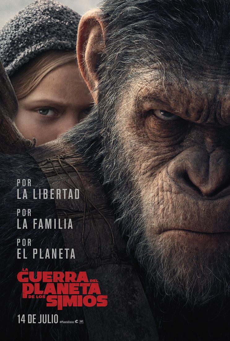 La Guerra del Planeta de Los Simios_Poster B