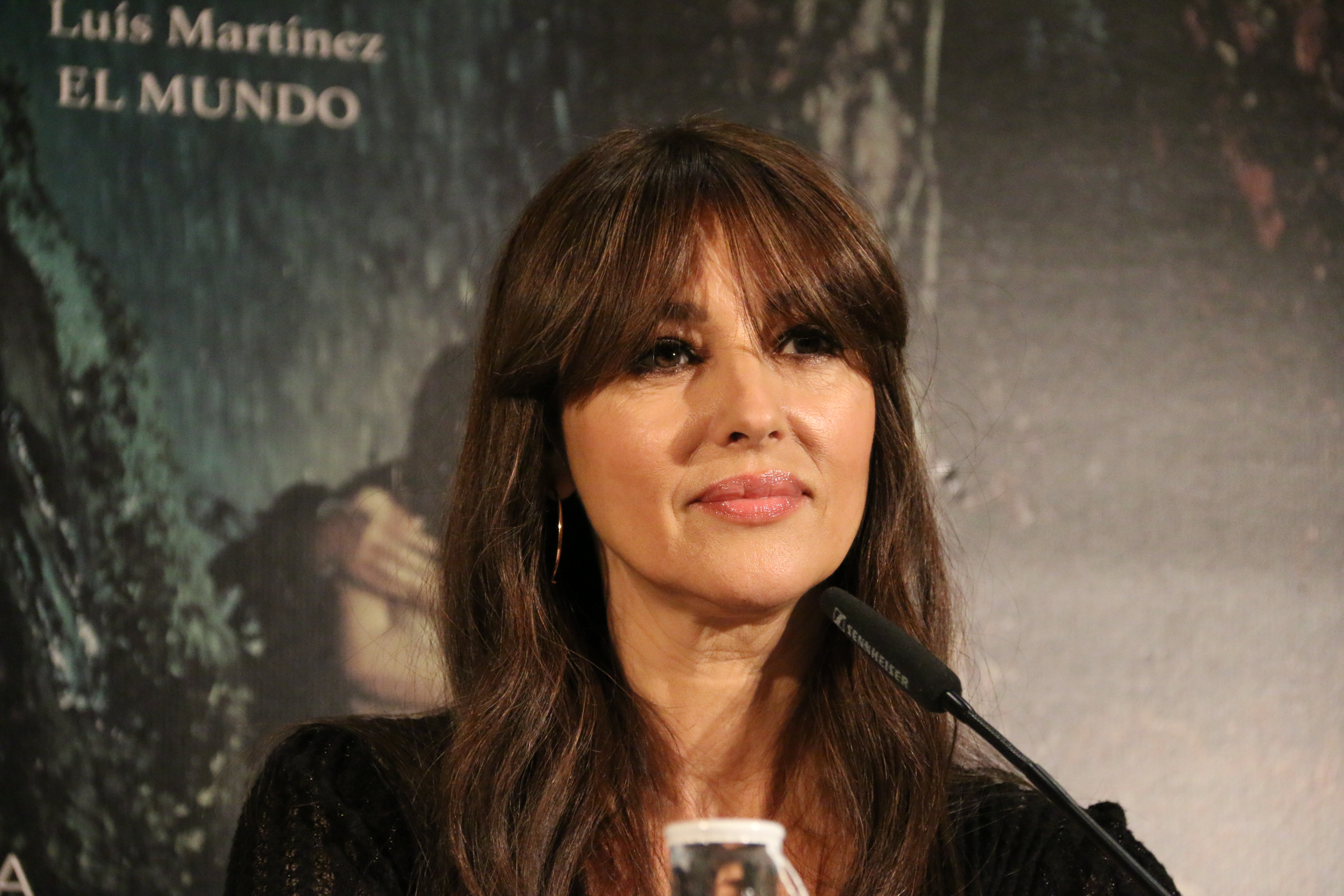 Mónica Bellucci durante la rueda de prensa