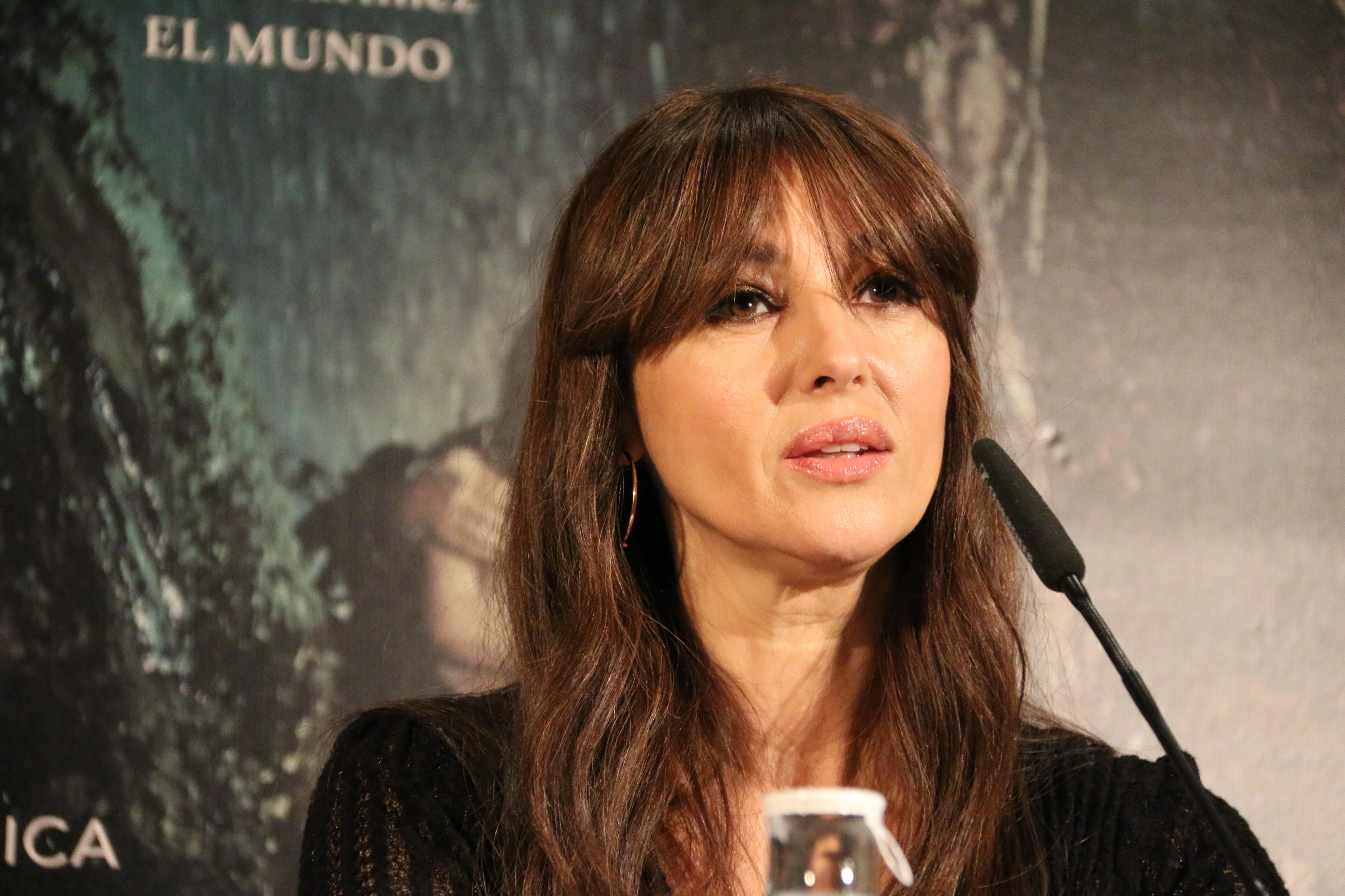 Mónica Bellucci durante la rueda de prensa 2