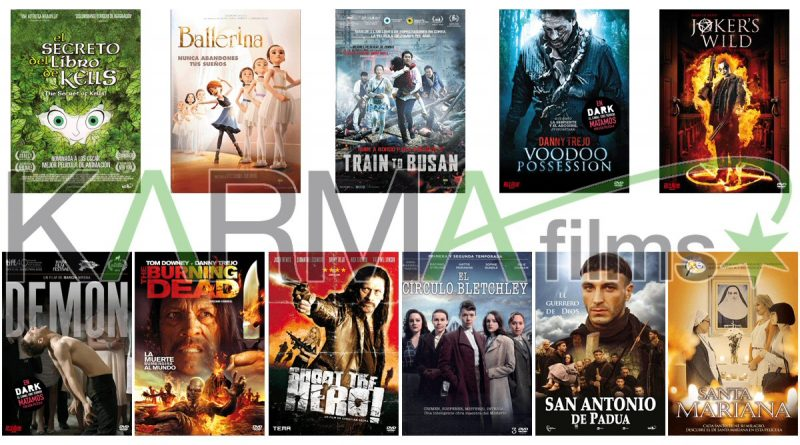 Lanzamientos de junio en DVD y Blu-ray de Karma Films (Train To Busan)