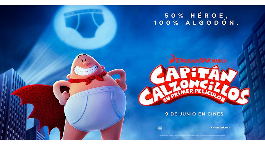 poster pelicula capitan calzoncillos