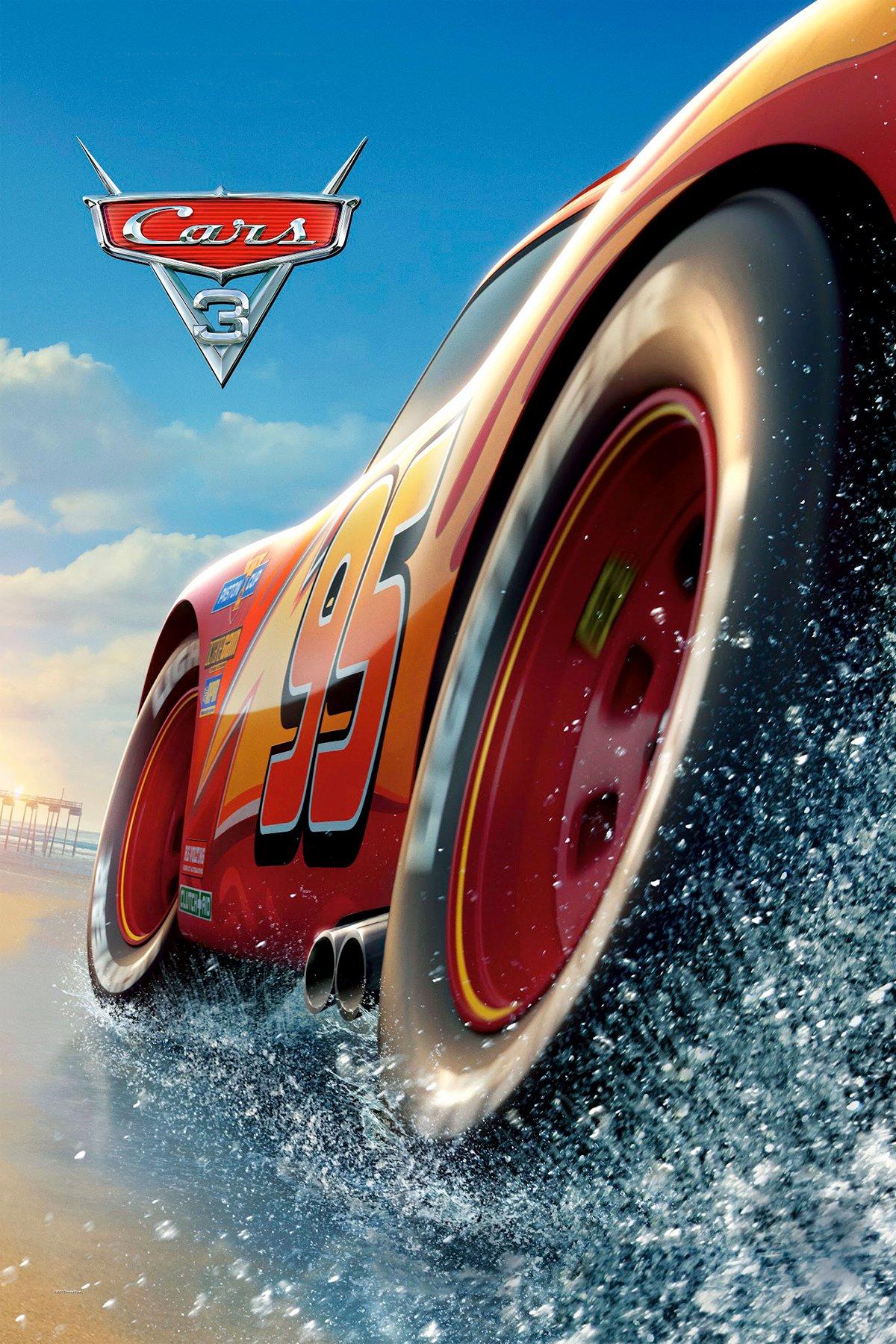 poster de la pelicula cars 3