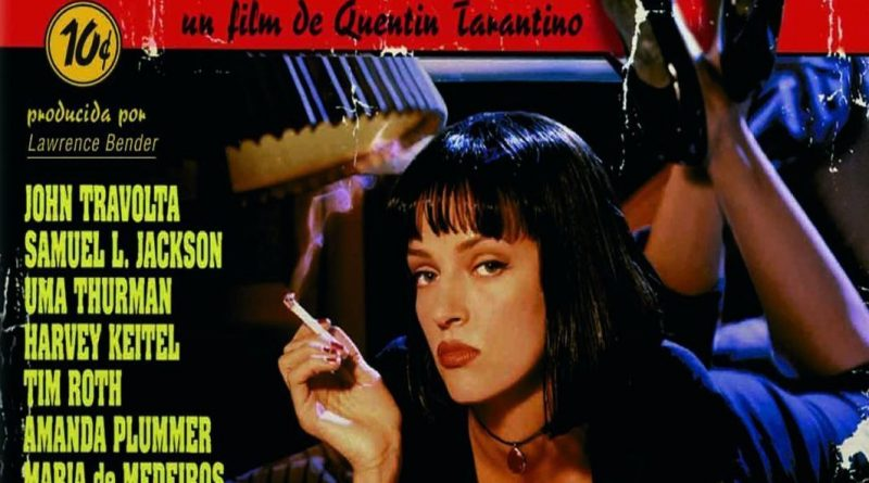 "Pósters de la película ""Pulp Fiction"""