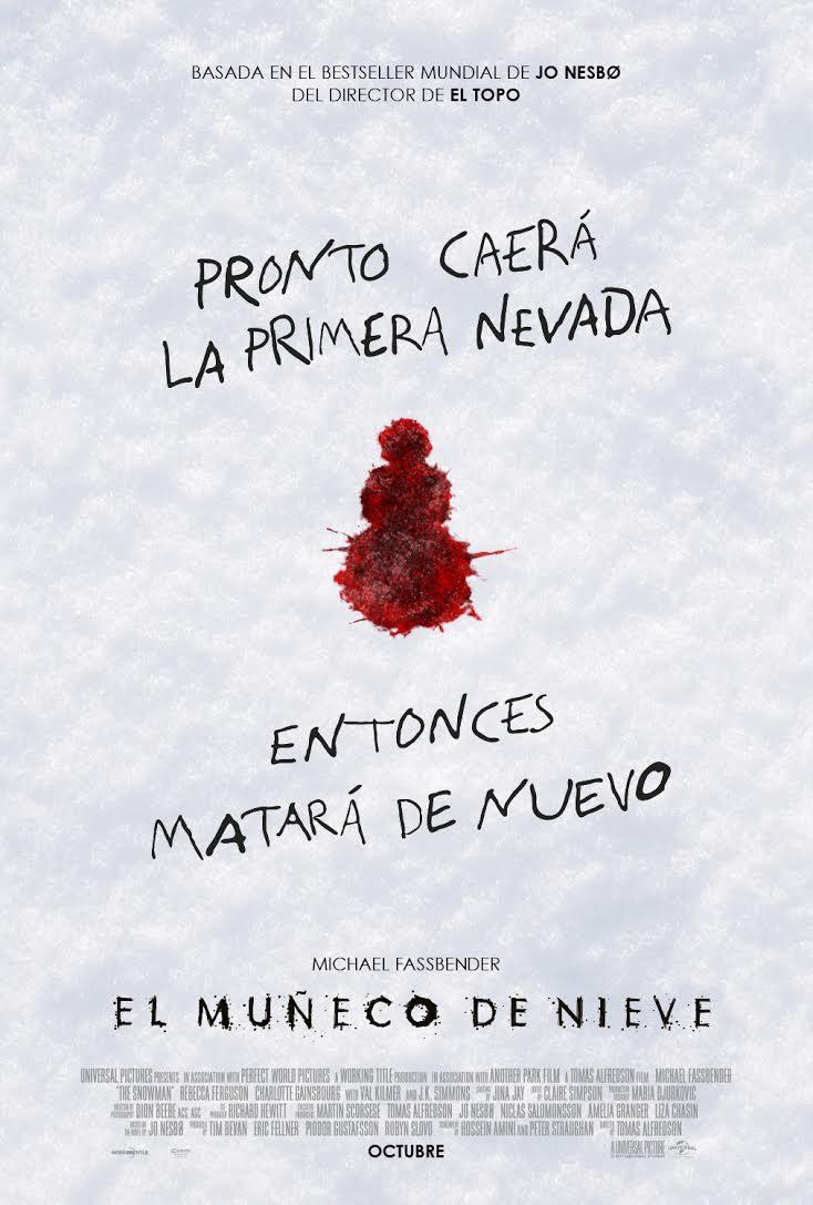 El muñeco de nieve poster