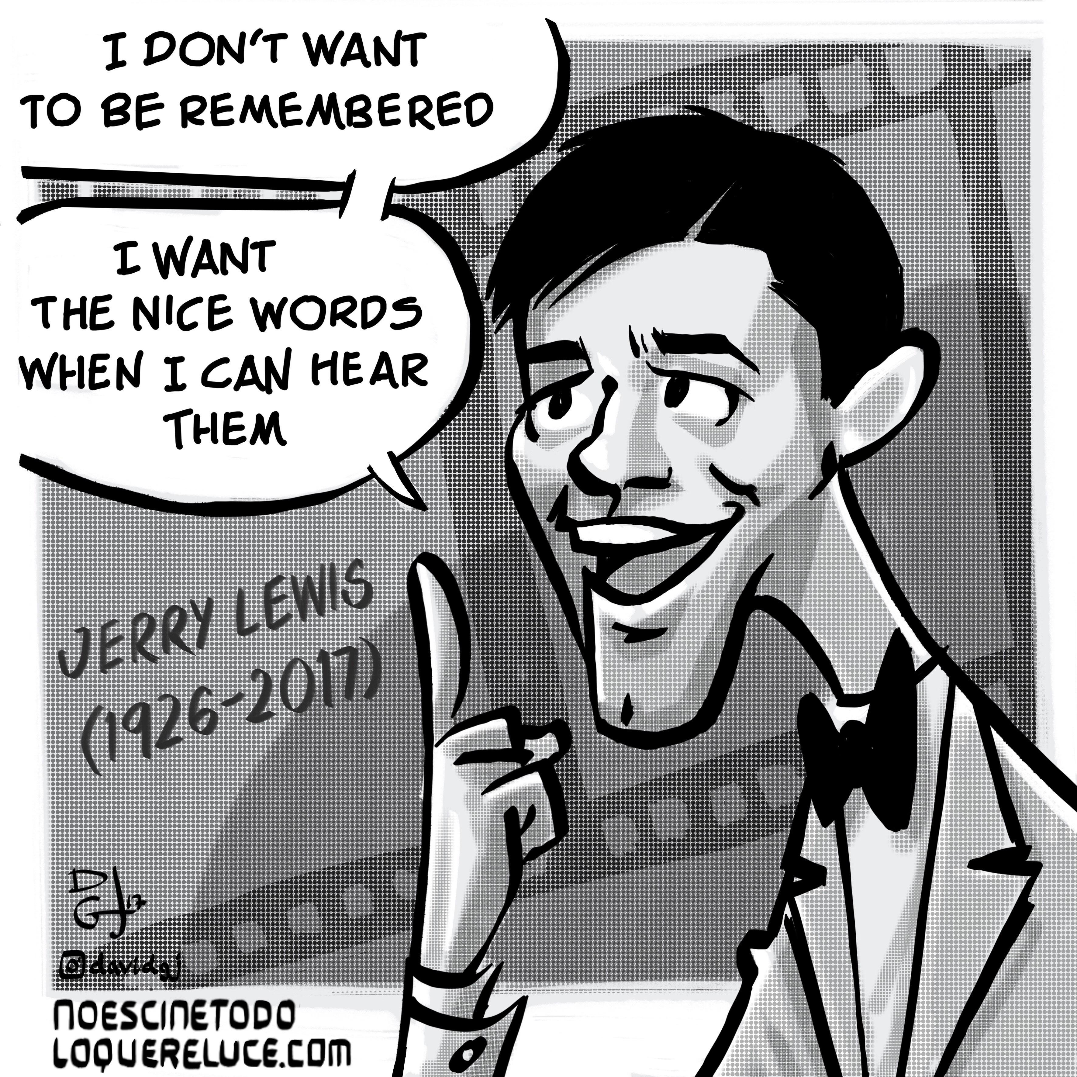 Celuloide Ilustrado (David GJ): Jerry Lewis