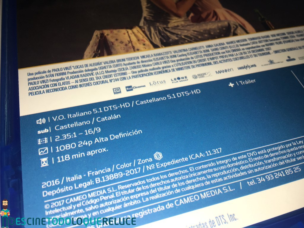 'Locas de alegría': Reportaje fotográfico y detalles de la edición Blu-ray