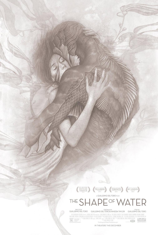 Poster de La forma del agua