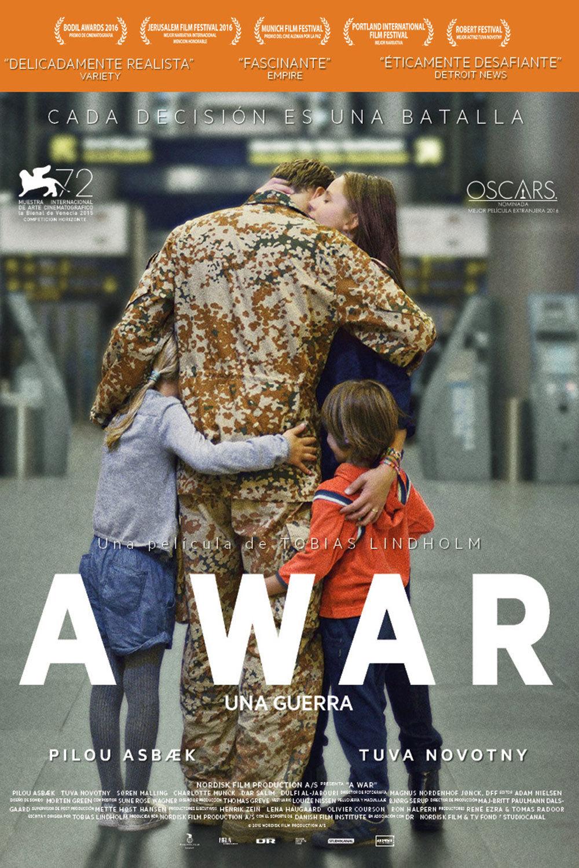 """Pósters de la película """"A War (Una guerra)"""""""