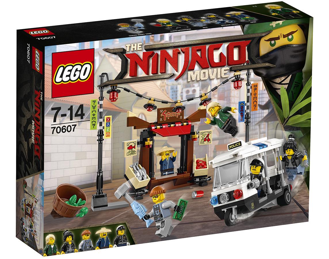 Ref. 70607 Persecución en ciudad de Ninjago