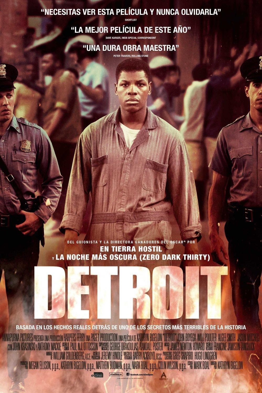 """Pósters de la película """"Detroit"""""""