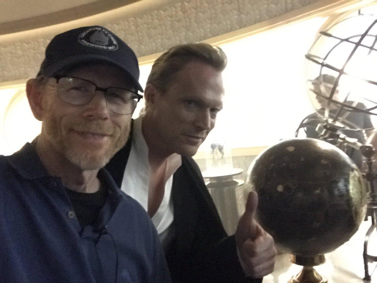 Ron Howard con Paul Bettany en 'Han Solo'