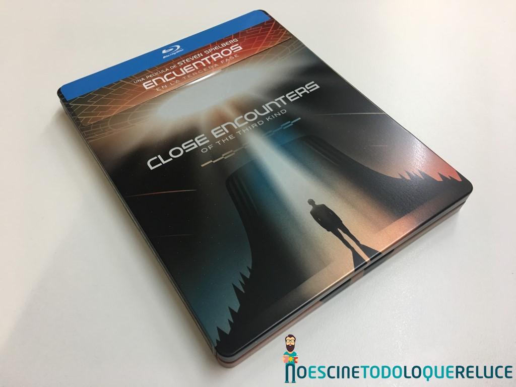 'Encuentros en la tercera fase': Reportaje fotográfico y detalles de la edición Steelbook (2 discos Blu-ray)