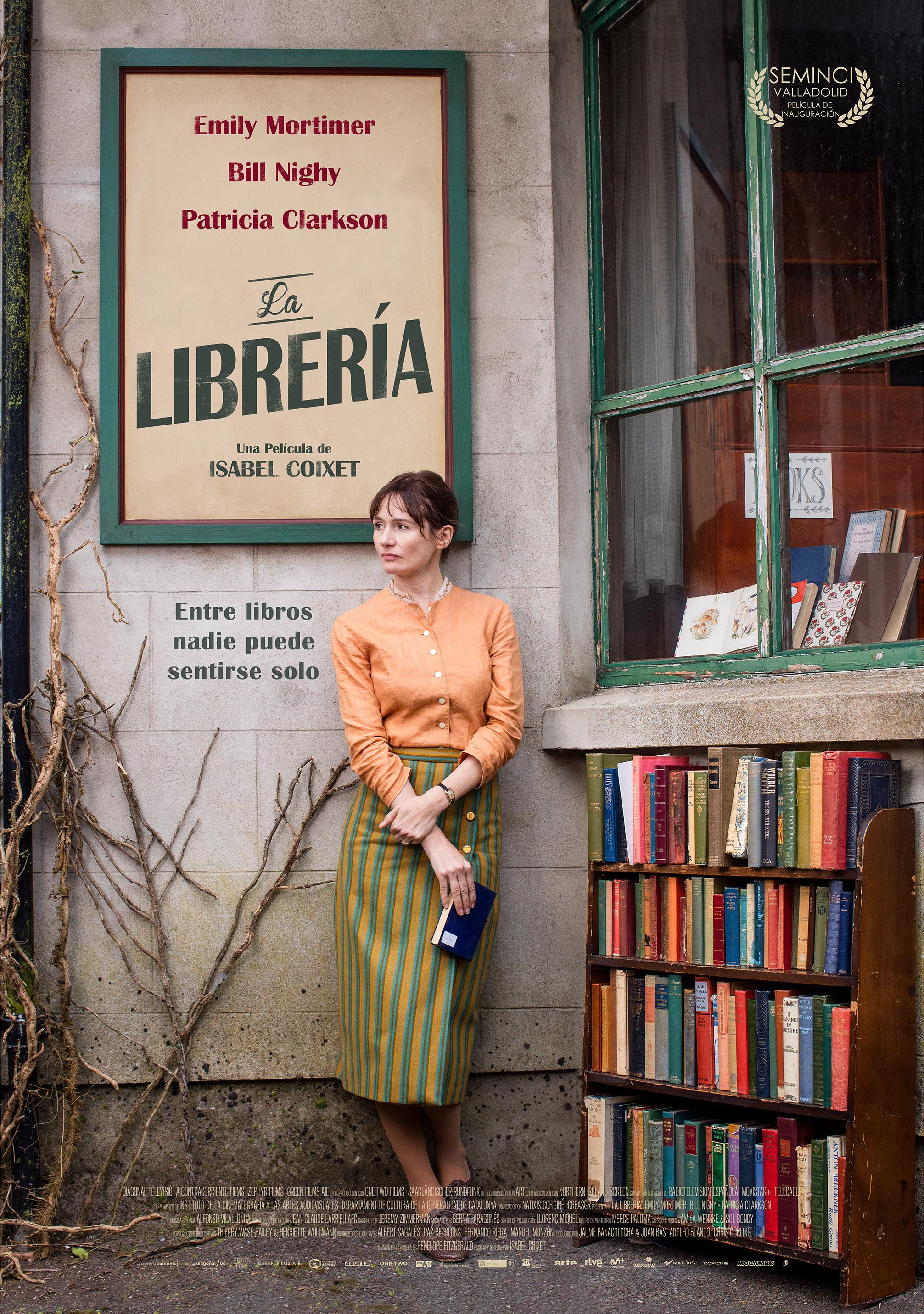 'La librería': Póster de lo nuevo de Isabel Coixet con Emily Mortimer, Bill Nighy y Patricia Clarkson